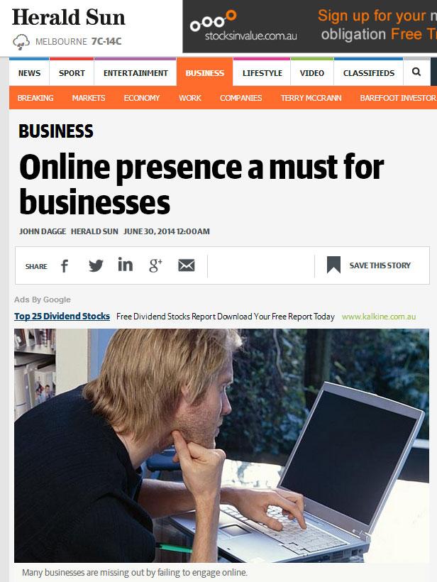 TrueLocal Online Presence